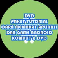 DVD Paket Tutorial Cara Membuat Game & APP Android. Lengkap!!