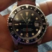 JUAL JAM TANGAN ROLEX VINTAGE GMT MASTER 16710 BLACK