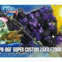 Gundam Bandai HG Super Custom Zaku F2000