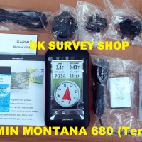 GPS GARMIN MONTANA 680 / GPS MONTANA 680 + Map Indonesia - Versi Indonesia