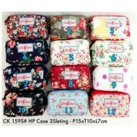 harga Dompet Wallet Cath Kidston 3 Sleting Resleting Case Hp Android 15x10x7 Tokopedia.com