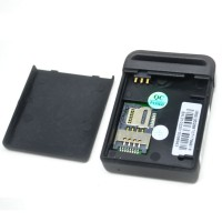 Global Smallest GPS Tracking Device GSM / GPRS / GPS Tracker - TK102 - Bla
