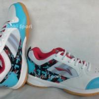 Sepatu Badminton / Bulutangkis Lining Star Icon II White/Blue