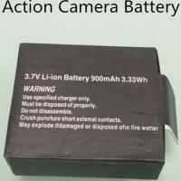 900mAh Baterai Action Camera untuk GO PRO, SJ CAM, dll