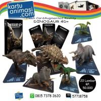 Jual Kartu Dinosaur 4D Animal Pre Historic Augmented Reality Murah