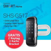 Samsung SHS-G517 Digital Door Lock - Kartu & PIN