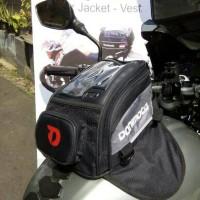 TankBag New Bali Donimoto tas motor tangki magnet kuat raincover