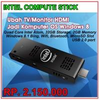 Intel Compute Stick (QuadCore Atom, 32GB Storage, 2GB DDR, Windows8.1)