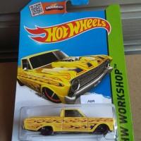 HW346 Hot Wheels 2015 HW Workshop Heat Fleet -'65 Ford Ranchero Yellow