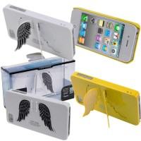 iPhone4 Case SGP Angel Kickstand Casing iPhone4S iPhone 4 4S OEM Sayap