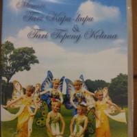 DVD Tutorial Tari Kupu Kupu dan Topeng Kelana