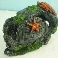 aquarium/hiasan aquarium/ornamen aquarium/fiber -Gentong udang