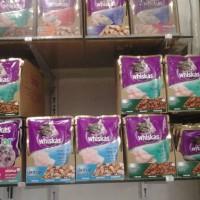 makanan kucing whiskas saset pouch