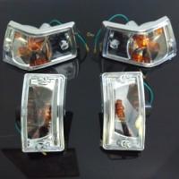 Lampu Sign / Lampu Sein Vespa New Px (Kristal)