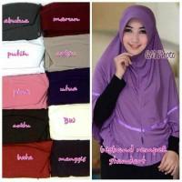 hijab ori elnifa / jilbab instant : bisband rempel standard