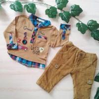 Satu Set Celana & Baju Merk JSP Size 3-6m