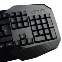Aula Illuminated Series USB Wired Gaming Keyboard with LED Backlight