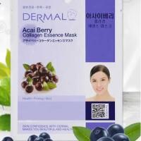 Acai Berry Collagen Dermal Facial Mask