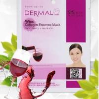 Wine Collagen Dermal Facial Mask