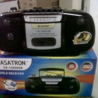 Jual Radio Kaset (Tape) Asatron CR1569 Usb Mp3 Sd Card Murah