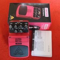 harga Efek Gitar Stompbox Behringer Ultra Metal Um 300 Tokopedia.com