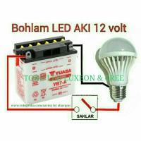 harga LED 12V / 7W LAMPU BOHLAM SOLAR CELL PANEL SURYA Tokopedia.com