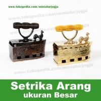 Miniatur Setrika Arang besar - Kualitas 1