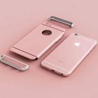 Casing HP iphone 6 / 6s / 6s plus Rose Gold Premiun Hardcase