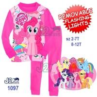Piyama J2-1097 Little Pony Pink (sz Kecil)