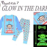 Piyama Anak Rk Paul Franks Glow In The Dark ( Menyala Dalam Gelap)