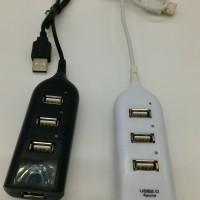 USH HUB 4 PORT 1METER PENAMBAH USB COLOKAN LISTRIK CABANG UNTUK TRAVEL