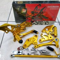 Foot Step Honda Cbr 150 Lokal (K45) / Cbr Build Up Thailand / Cbu / Cb 150r