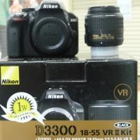 Kamera Nikon D3300 Kit / 18-55mm VR
