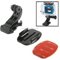 TMC Flat Mount and J-Hook Buckle with 3M Adhesive For GoPro & Xiaomi Y