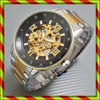 harga Bvlgari Automatic Rantai Kombinasi Hitam | Jam Skeleton Rolex Omega Tokopedia.com