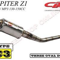 harga Knalpot Cld Racing Jupiter Z1 Type C3 Mp1/mp3 Silencer Oval Doff Tokopedia.com