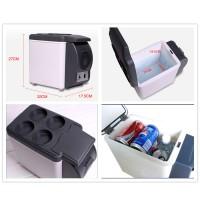 harga Kulkas Mobil Lemari Es Pendingin Portable 6 Liter Cold Box Ice Cream Tokopedia.com