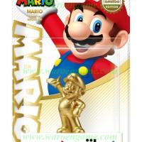 Wii U / 3DS / N3DS Amiibo Mario - Gold Super Mario Bros Series