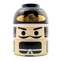 ORI JAPAN Kokeshi Bento Lunch Box BUSHO BIG Box Hakoya SIZE L