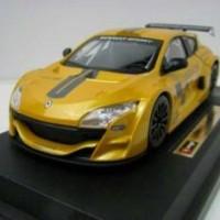 Miniatur Mobil Renault Megane Trophy Kuning - Bburago 1/24