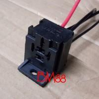 Socket relay 4 kaki MX