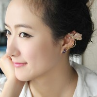 harga Gold Butterfly Ear Cuff/ Anting Kupu Tusuk Tokopedia.com