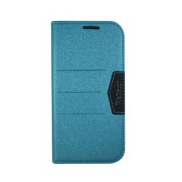Wallston Beautiful Bright Leather Case For Smartfren Andromax T Blue