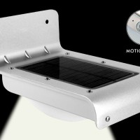 harga Solar Motion Light 16 Led, Lampu Tenaga Surya untuk No Rumah,Taman,etc Tokopedia.com