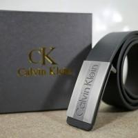 GESPER IKAT PINGGANG KULIT PRIA IMPORT CALVIN KLEIN 09 BLACK