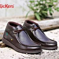 harga Sepatu Kickers Ferrari Fox Casual Tokopedia.com