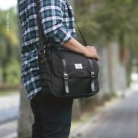 Tas Kerja Selempang Laptop Visval Massive Sling Bag Branded Waterproof