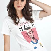Baju Distro - T-shirt - Baju Sport & music-gareth bale cartoon
