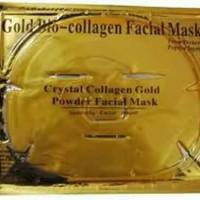 MASKER GOLD BIO COLLAGEN FACIAL MASK / MASKER MUKA / CRYSTAL C
