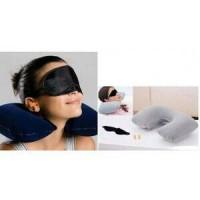 harga Travel Pillow Set ( 1 Bantal 1 Penutup Mata 1 Penutup Telinga ) Tokopedia.com